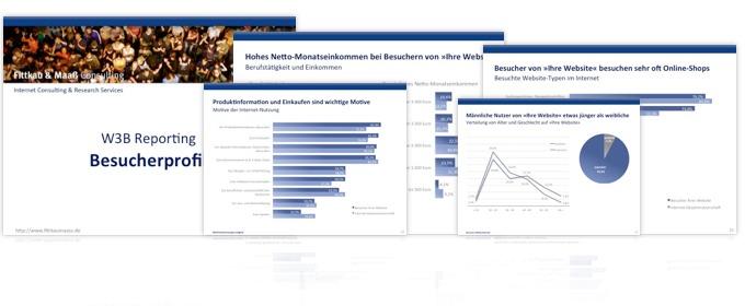 W3B Reporting Besucherprofil Auswertung